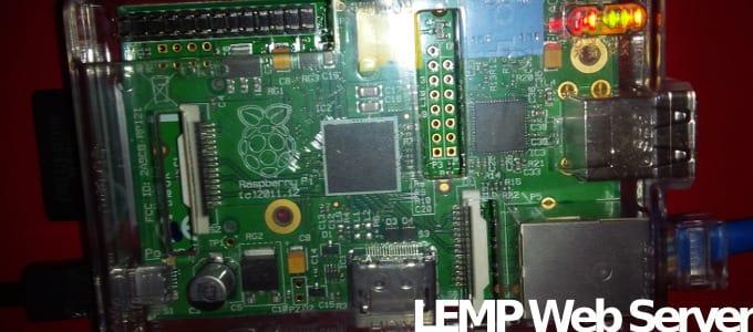 LEMP Raspberry Pi