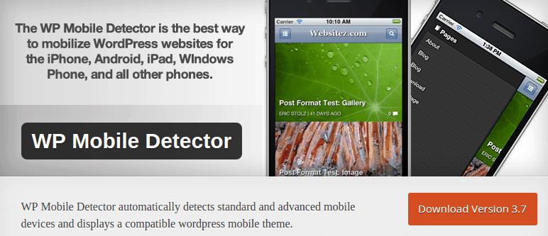 WP Mobile Detector — WordPress Plugins
