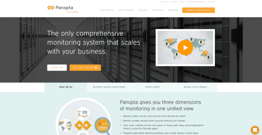 Uptime Monitoring Software for IT Systems Management Panopta