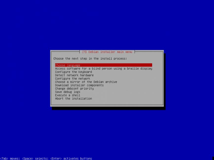 Direct install of Debian SID