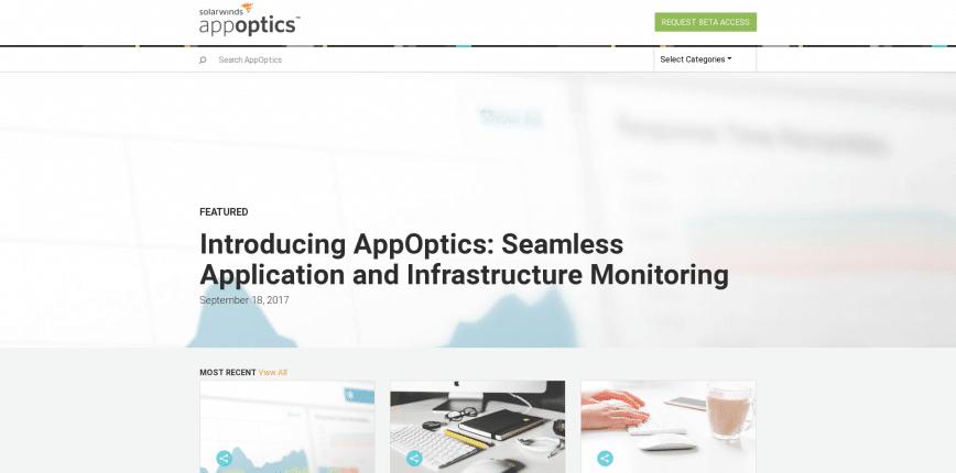 Application Performance Management Server Monitoring AppOptics