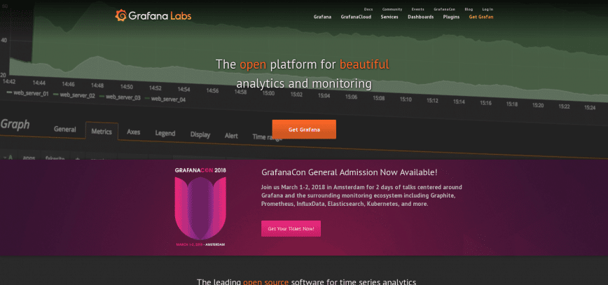 Grafana The open platform for analytics and monitoring